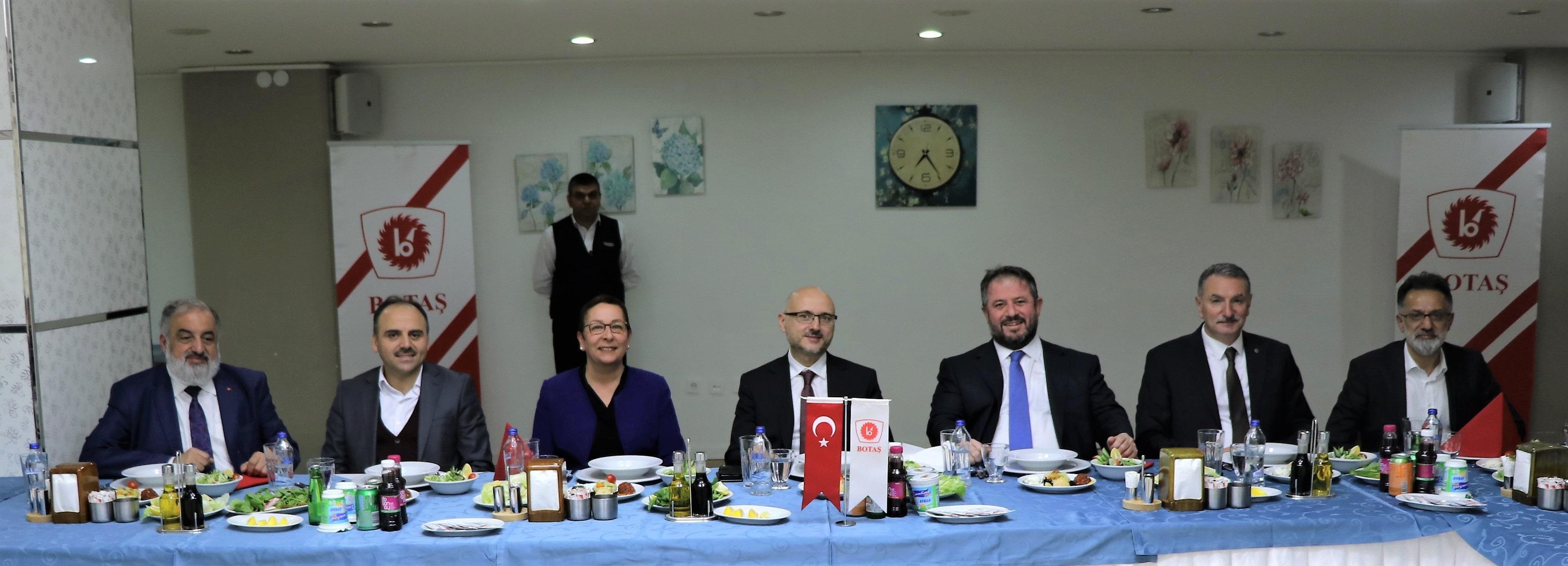 Kurumlararası Diyaloğu Geliştirme Toplantısı – BOTAŞ Genel Müdürlüğü