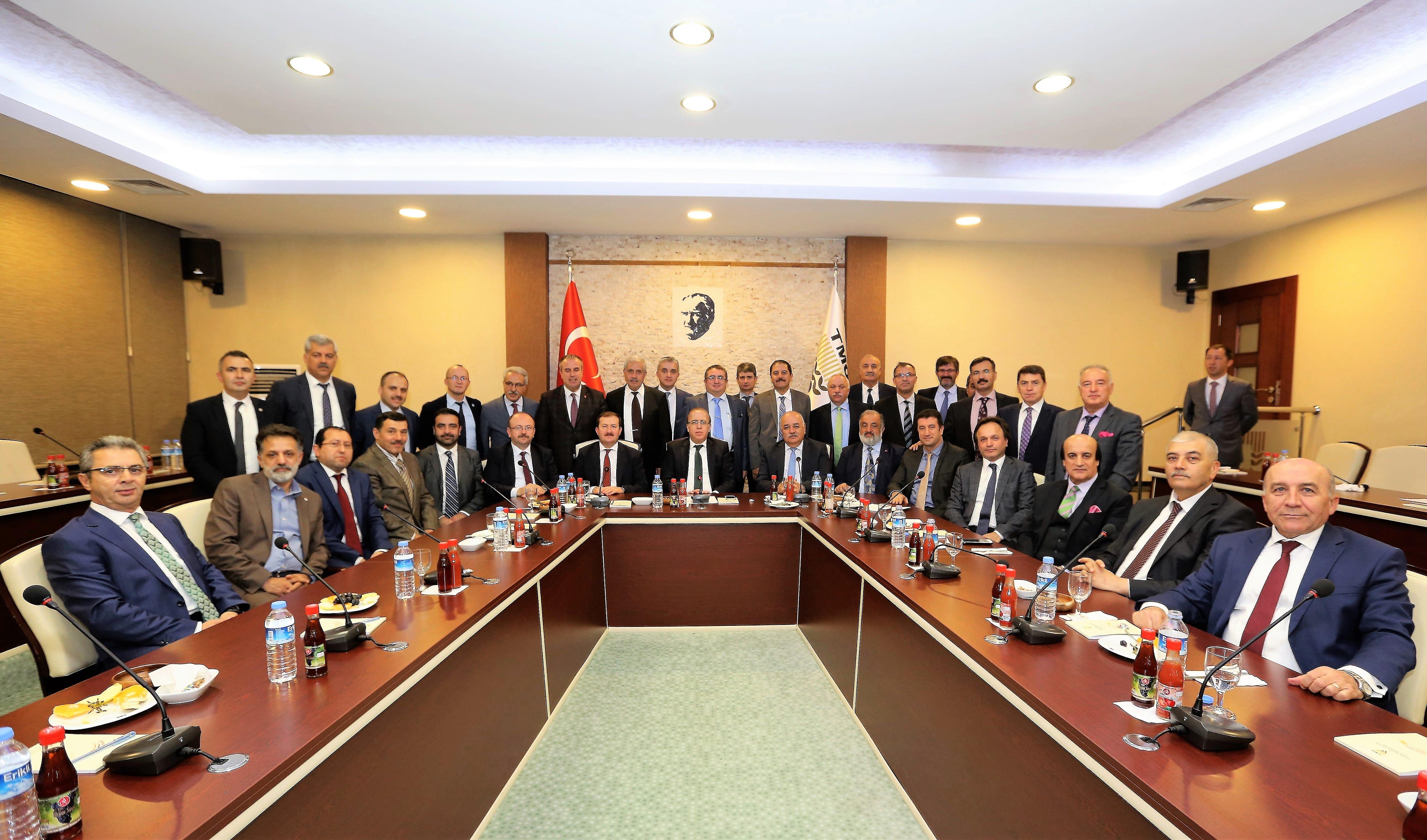 Kurumlararası Diyaloğu Geliştirme Toplantısı – TMO Genel Müdürlüğü