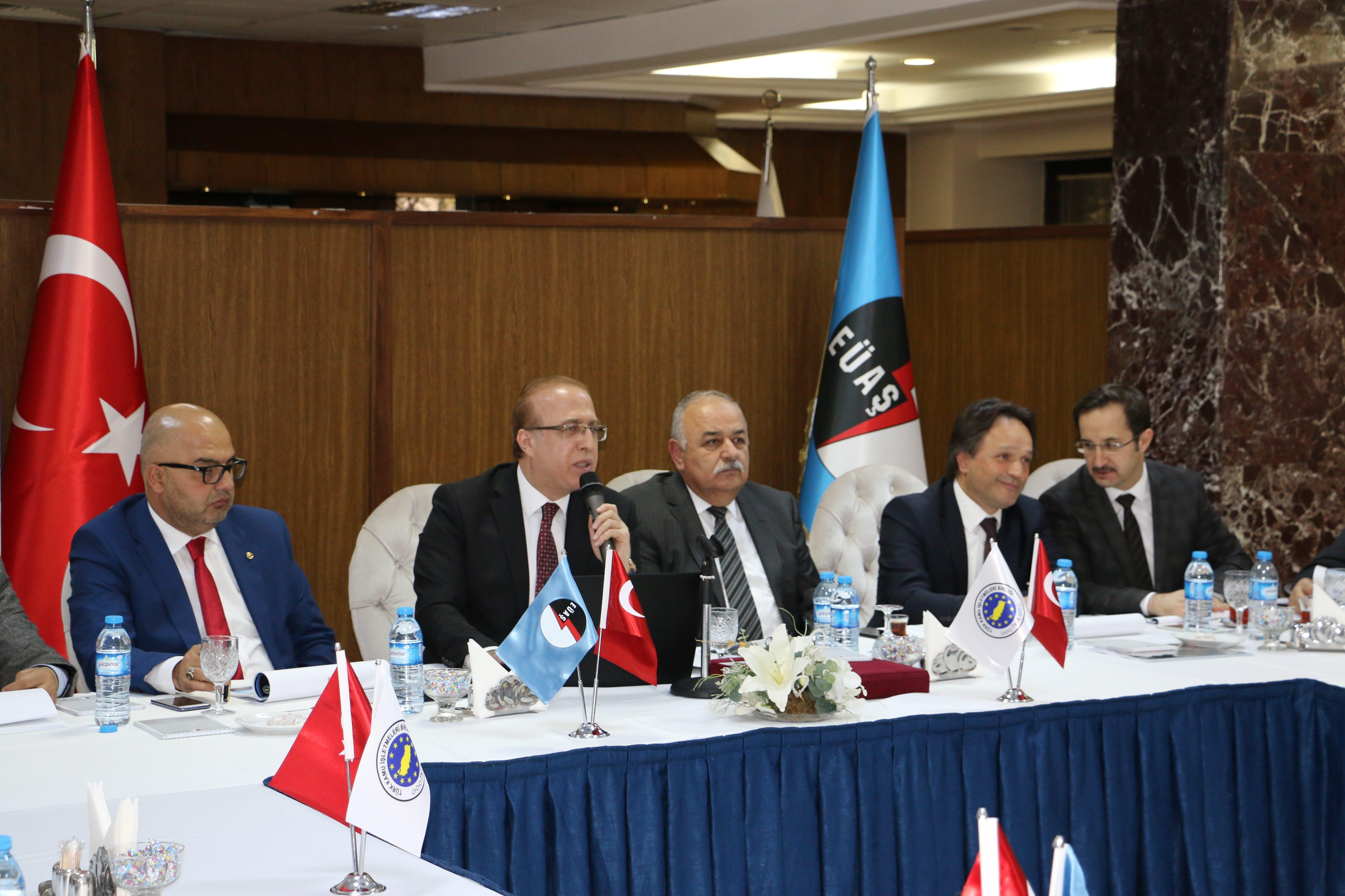 Kurumlararası Diyaloğu Geliştirme Toplantısı – EÜAŞ Genel Müdürlüğü