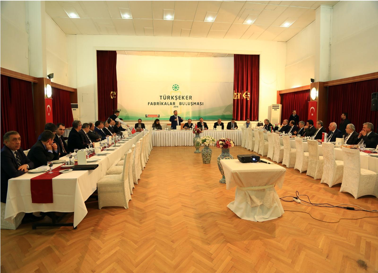 Kurumlararası Diyaloğu Geliştirme Toplantısı – TÜRKŞEKER Genel Müdürlüğü