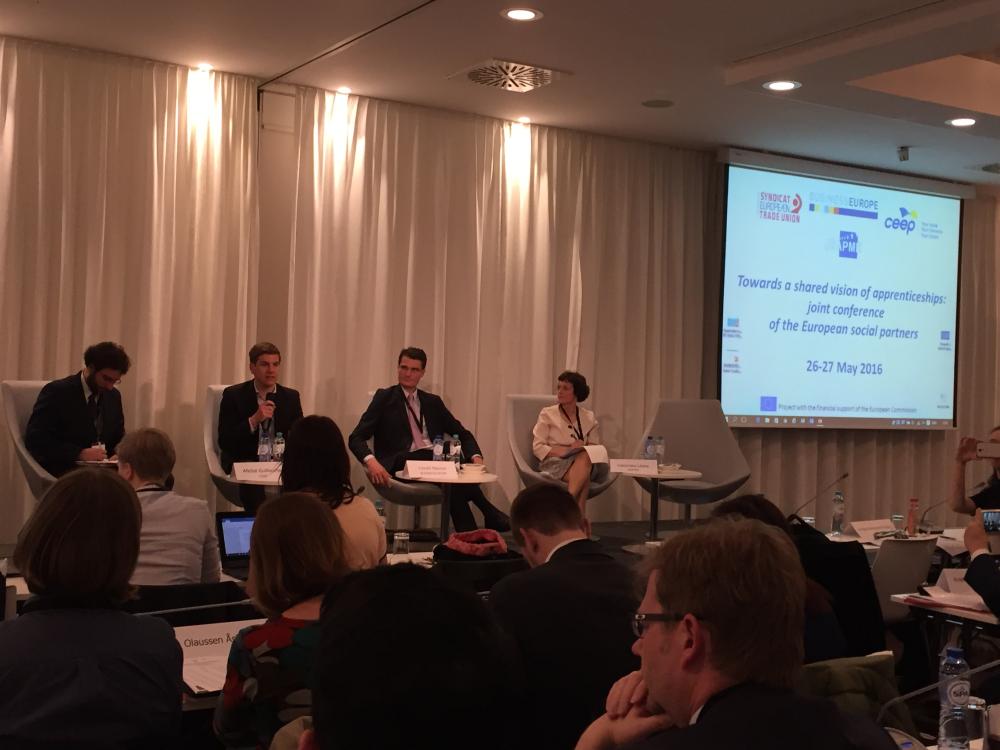 Avrupa Çıraklık Eğitimi Final Konferansı, Brüksel