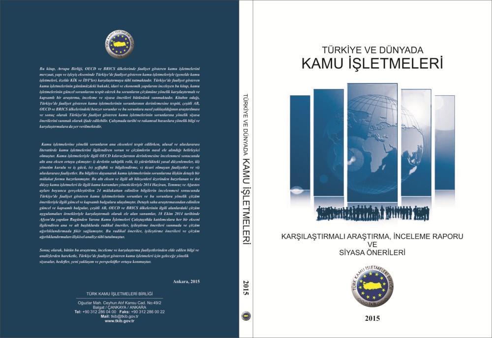Türkiye ve Dünyada Kamu İşletmeleri AB, OECD, BRICS Ülkeleri Karşılaştırmalı Araştırma, İnceleme Raporu Ve Siyasa Önerileri