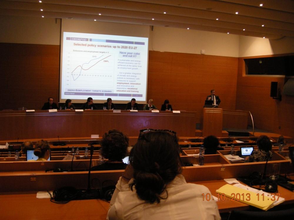 Yeşil Ekonomilerde Mutlak İhtiyaçlar Konferansı, Brüksel